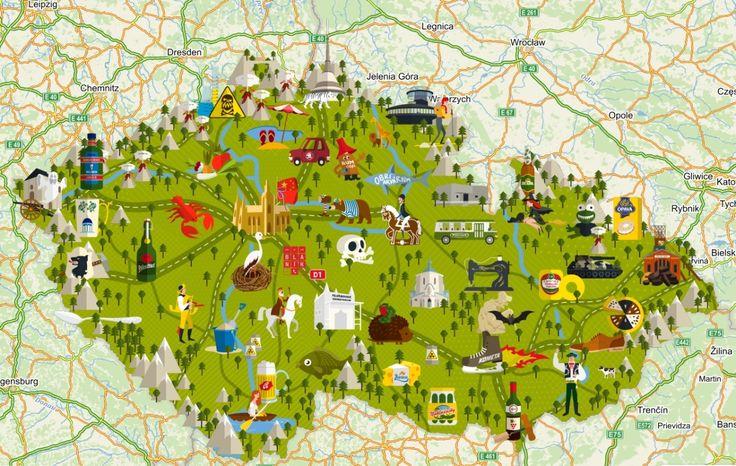 """Alig több, mint egy héttel ezelőtt, április elseje alkalmából a cseh """"Google"""" azaz a mapy.cz  szerkesztői egy rendkívüli térképet tettek kö..."""