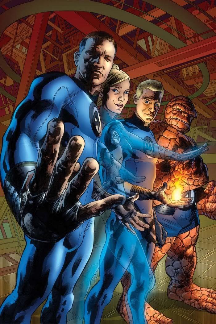 Fantastic Four by Bryan Hitch