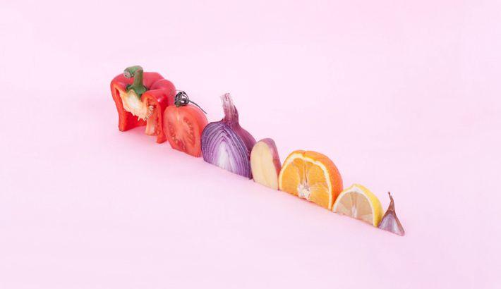 Brilliantly Minimalistic Food Still Lifes