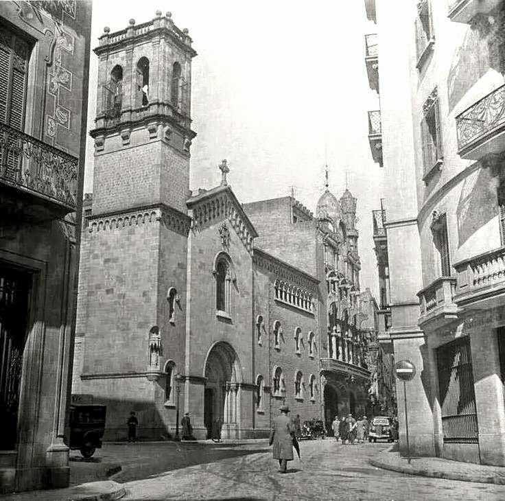 Barcelona, Palau de la Música1930.