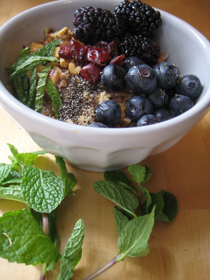 bulgar & berries breakfast bowl. #BulgarWheat, #breakfast -d'Orsays a...