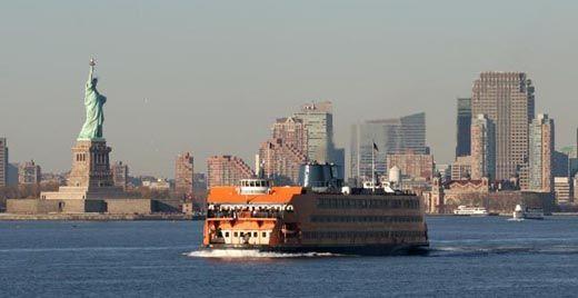 Voir la statue de la liberté en prenant le Staten Island ferry gratuitement!