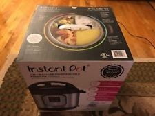 New Instant Pot IP-DUO60 V2 Programmable Electric Pressure Cooker 6 QT 7-in-1