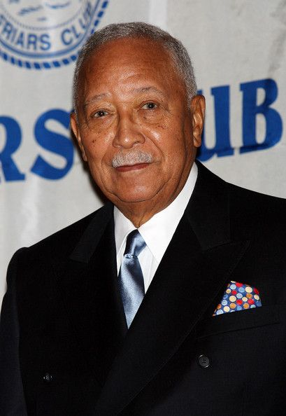 In 1990 David Dinkins became the first African American Mayor of New York. In 1993 Rudolph Guiliani was elected. He succeeded in reducing crime in New York. | ... this photo david dinkins attends the friars club's roast