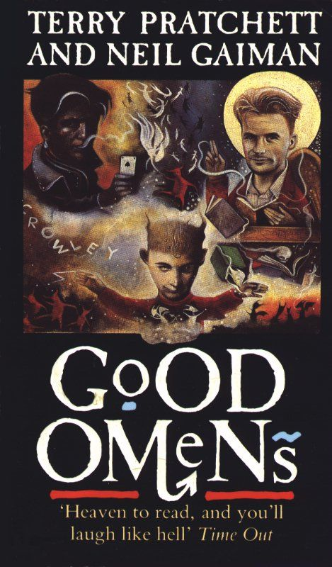 """""""Good omens - the nice and accurate prophecies of Agnes Nutter, witch"""" av Terry Pratchett - 'A book by two authors'"""