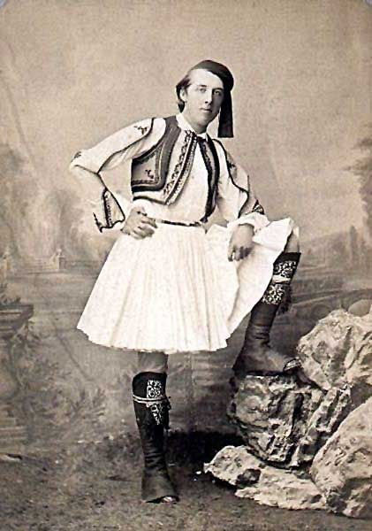 Oscar Wilde in Greece (1881). Wilde and his party arrived in Greece at the port of Katakolo, where the ancient athletes and embassies from all around the Greek world arrived and traveled up to Olympia.