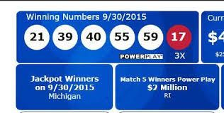 news,latest news: Powerball Player Wins $310M on Ticket Sold at Mich...