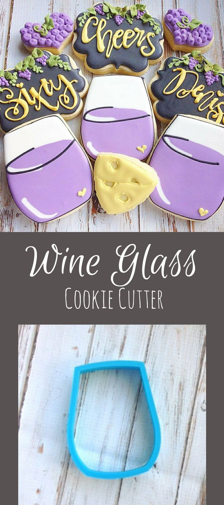 Stemless wine glass Cookie Cutter #affiliate