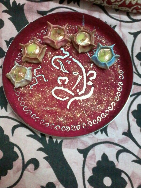 Aarti decoration