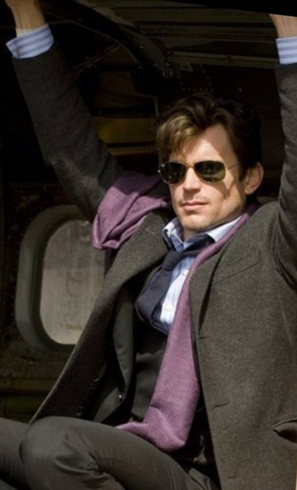 Matt Bomer, please tie me up with that scarf. Love, Everyone