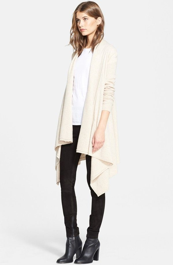 Drape Cardigan wool and cashmere