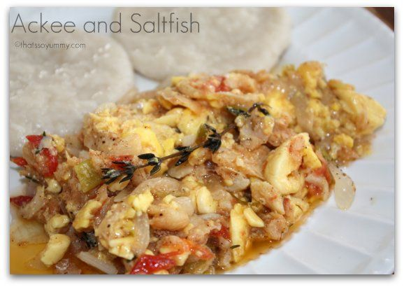 how to cook salt fish jamaican style
