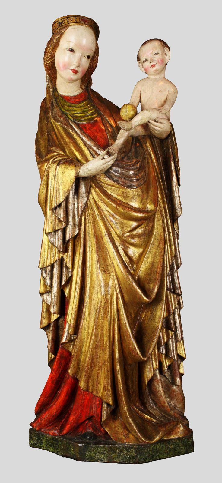 Madonna of Krużlowa by Anonymous from Lesser Poland, ca. 1400, Muzeum Narodowe w Krakowie (MNK)
