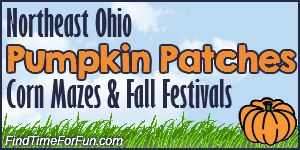 Pumpkin Patches, Corn Mazes Hayrides and Fall Festivals in Northeast Ohio