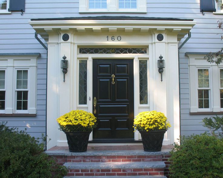 Entrance Doors With Sidelights Design Ideas