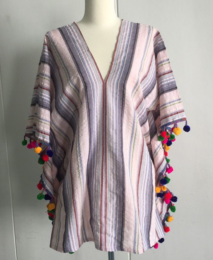 A personal favorite from my Etsy shop https://www.etsy.com/sg-en/listing/265457534/mexican-style-dusty-pink-stripped-rayon