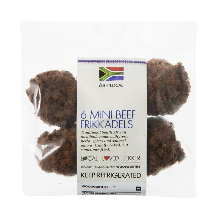 Beef Frikkadels 6Pk