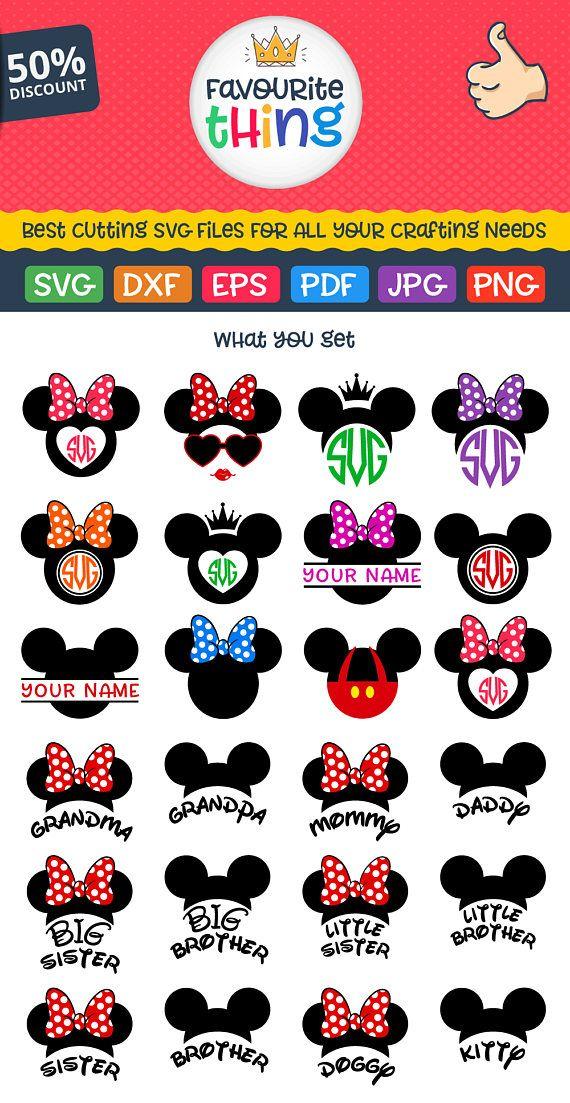 Disney Font SVG Disney Monogram SVG Disney Alphabet Svg Cut