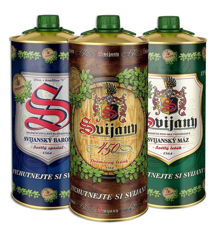 Пиво для настоящих мужчин от пивоварни «Svijany»