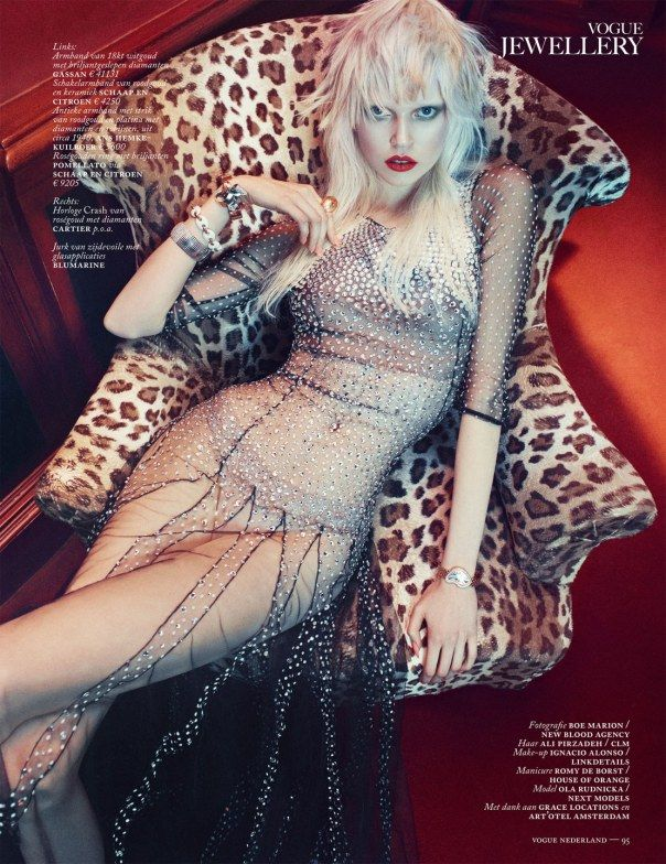 Ola Rudnicka by Boe Marion for Vogue NE March 2014