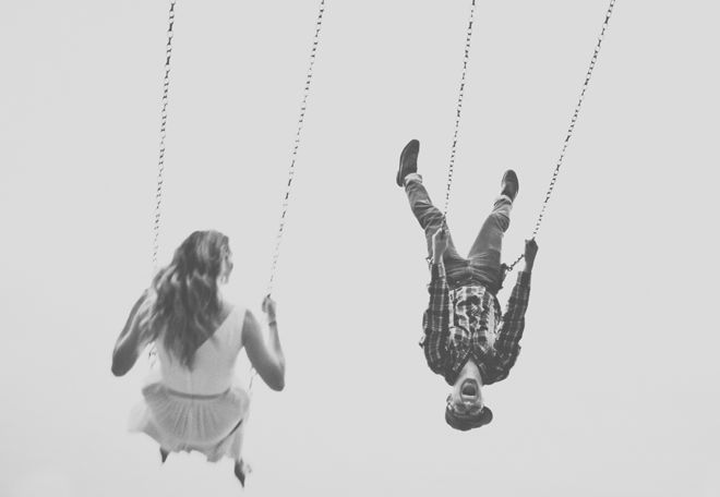 Love the swing photos