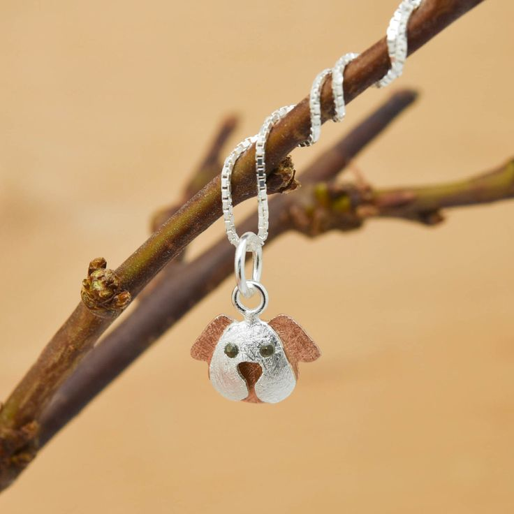 Excited to share the latest addition to my #etsy shop: Dog Pendant, Dog Necklace, Dog Jewelry, Dog Charm, 925 Sterling Silver, Bridesmaid Gift, Best Friend Gift,  Gift for her