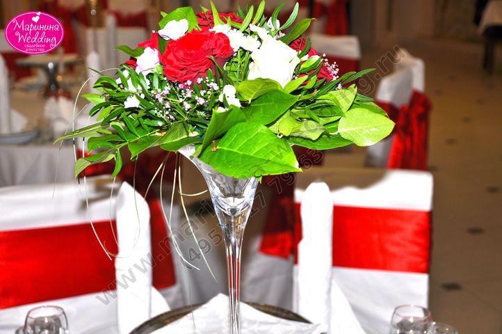 цветы для красно-белой свадьбы в мартинницах - Поиск в Google