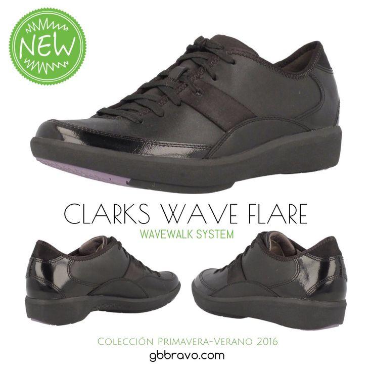 Una de las mejores soluciones para los pies delicados o con fascitis plantar. Presentamos los nuevos Wave Flare de Clarks con su sistema WaveWalk. http://bit.ly/WaveFlare  #gbbravo