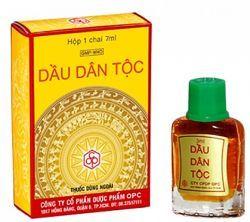 Масло Dau Dan Toc (заложенность носа, головная боль, головокружение, морская болезнь укачивание, тошнота) - 7 ml. Пр-во Вьетнам