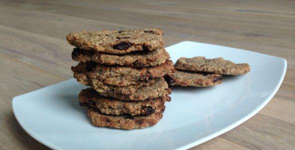 Healthy Banana Oatmeal Cookies! Easy to bake! Love these!