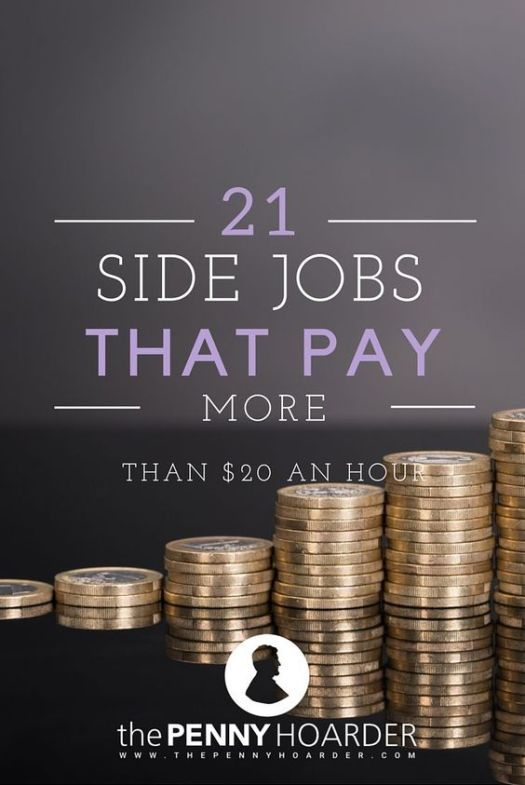 21 side jobs that pay 21 an hour