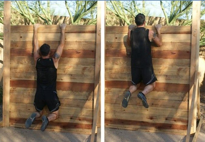 Make Your Own Wall For Training The Ultimate Mud Run