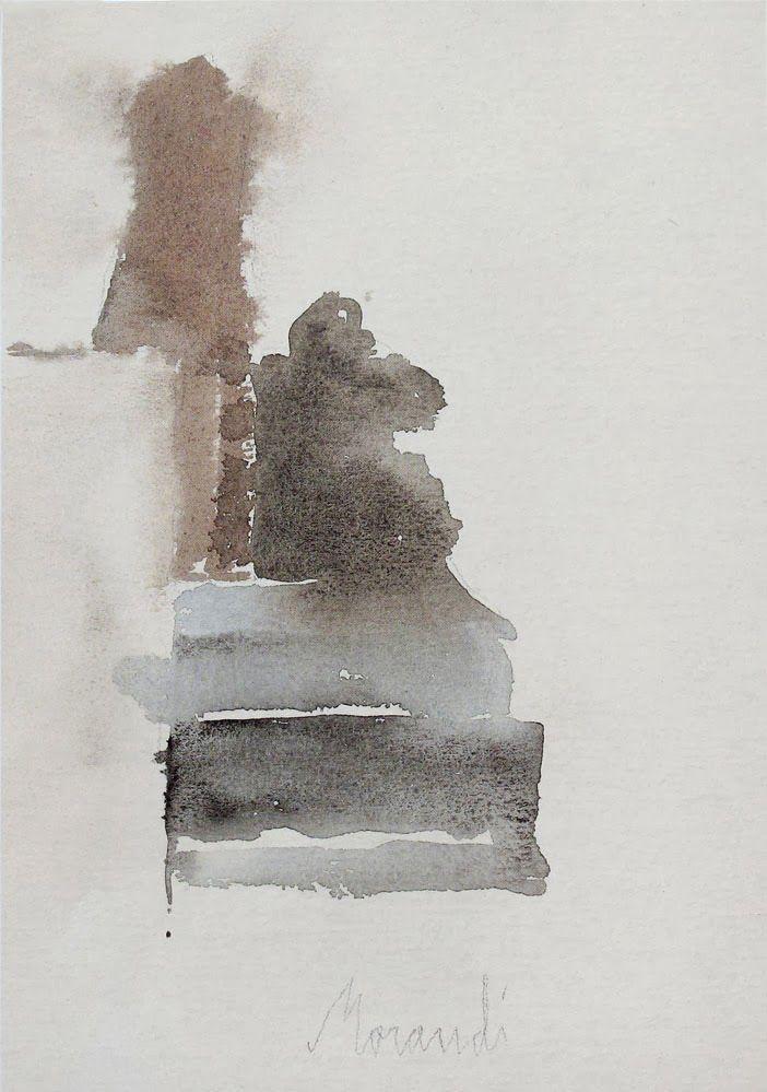 Morandi   Watercolor   1963