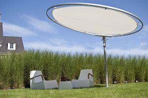 Sun Shade with Optional Solar Panels