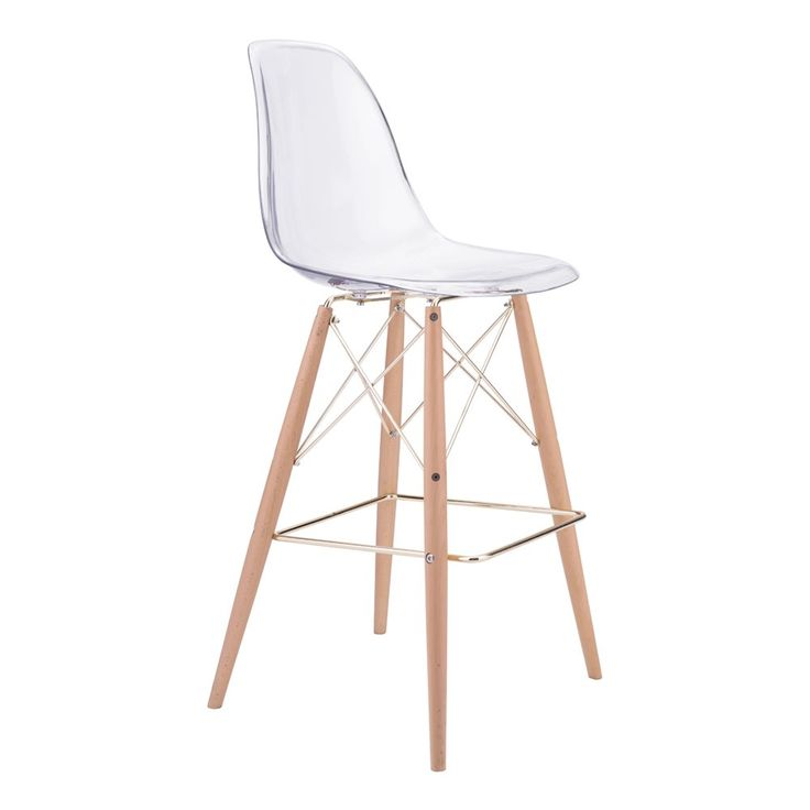 Zuo Modern 100261 Shadow Bar Chair At Lowe S Canada Find Our Selection Of