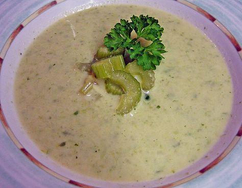 Staudensellerie Creme - Suppe