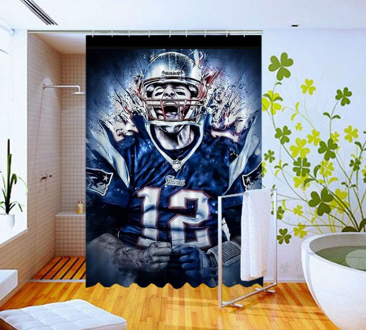 Cover Tom Brady New England Patriots High Quality Custom Shower Curtain 60 x 72 #Unbranded #Modern #Unbranded #Modern #BestQuality #Cheap #Rare #New #Latest #Best #Seller #BestSelling #Cover #Accessories #Protector #Hot #BestSeller #2017 #Trending #Luxe #Fashion #Love #ShowerCurtain #Luxury #LimitedEdition #Bathroom #Cute #ShowerCurtain #CurtainGift