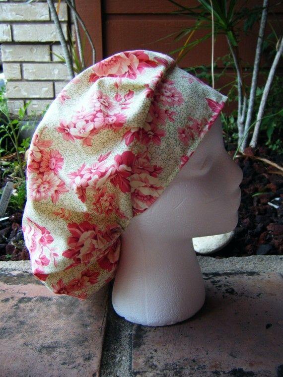 Scrub Hat Sewing Pattern PDF Download bouffant by adesignbyangie