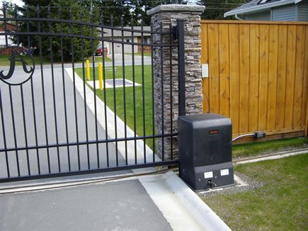 Top 29 ideas about slide gate openers on pinterest for Best electric gate motors
