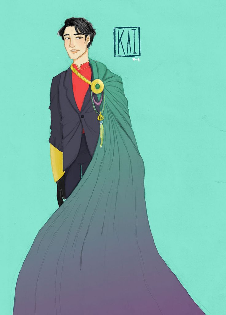 Prince/ Emperor Kaito from the Lunar Chronicles
