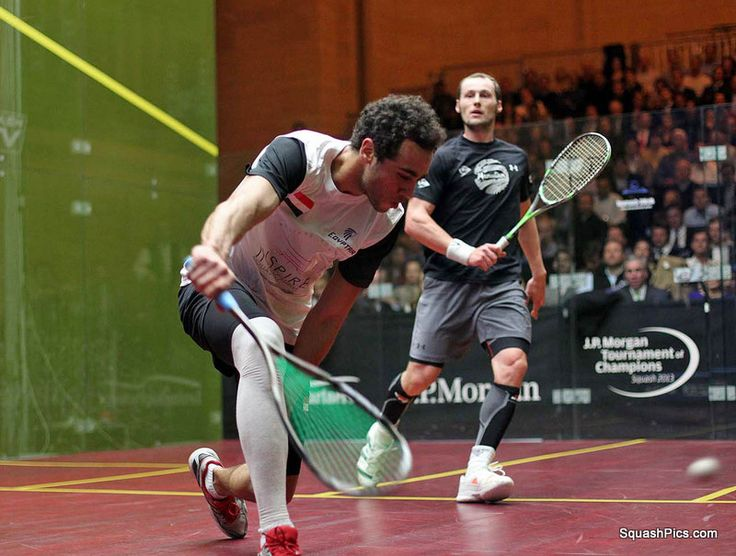 Squash sport : TOC New York 2013 - Ashour bat Gaultier... :-(