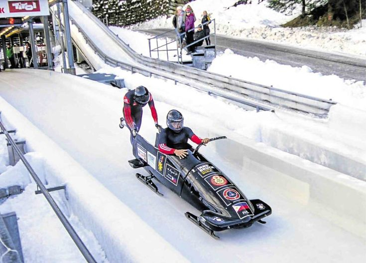 Plunging into action for the the first time, the Philippine bobsled team got a look at the powerhouses it would be up against in its long-term bid to crash the Winter Olympics in 2022.