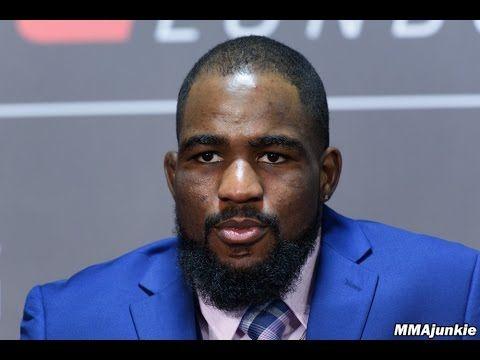 MMA Press conference archive UFC Fight Night 107's Corey Anderson