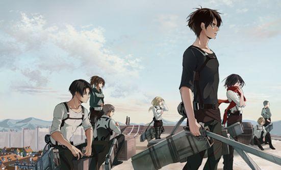 The Team | Shingeki no Kyojin | Attack on Titan | Anime