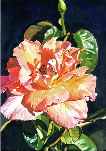 Bright Paintings | David Lloyd Glover Watercolor Paintings - Fine Art Blogger