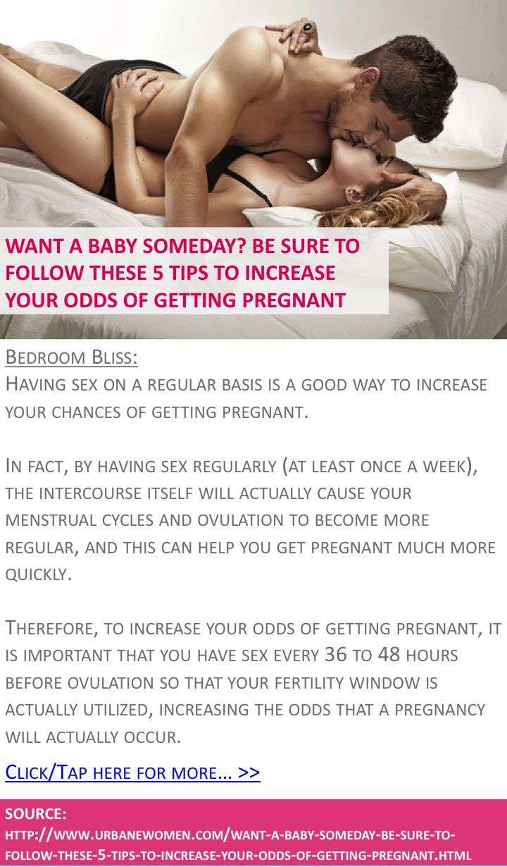 Want A Baby Someday? Be Sure To Follow These 5 Tips To ...