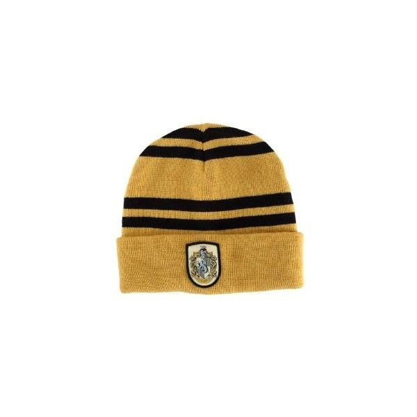 Amazon.com: Hufflepuff House Beanie: Toys & Games ($5.99) ❤ liked on Polyvore