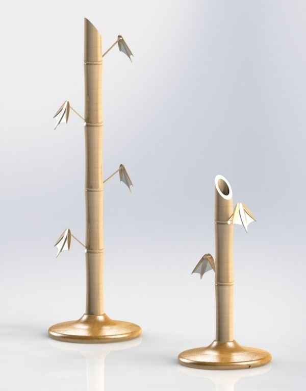 LED bamboo lamp by Johan de Beer_5
