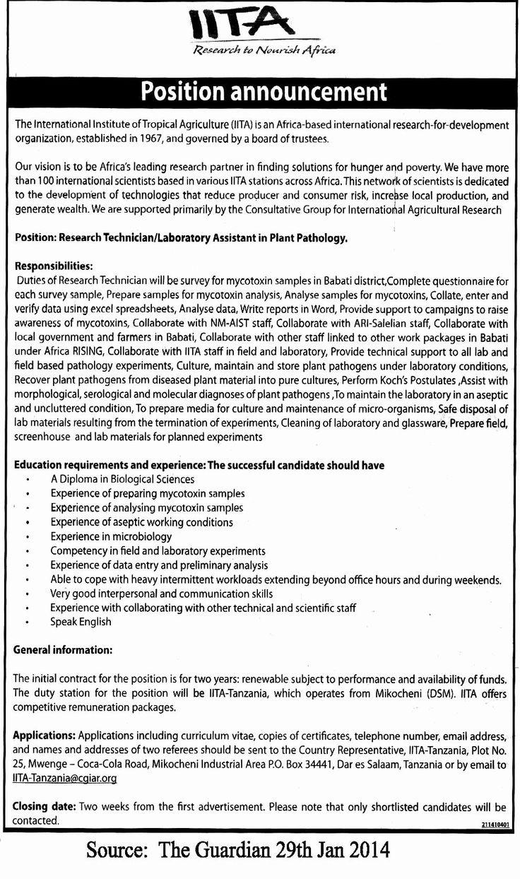 20 Research assistant Job Description Resume Assistant