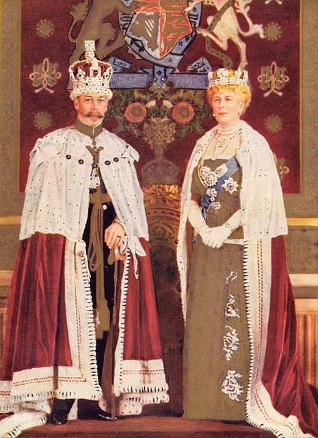 King George V and Queen Mary, 1911.Het elkaar zeer toegewijde echtpaar kreeg zes…